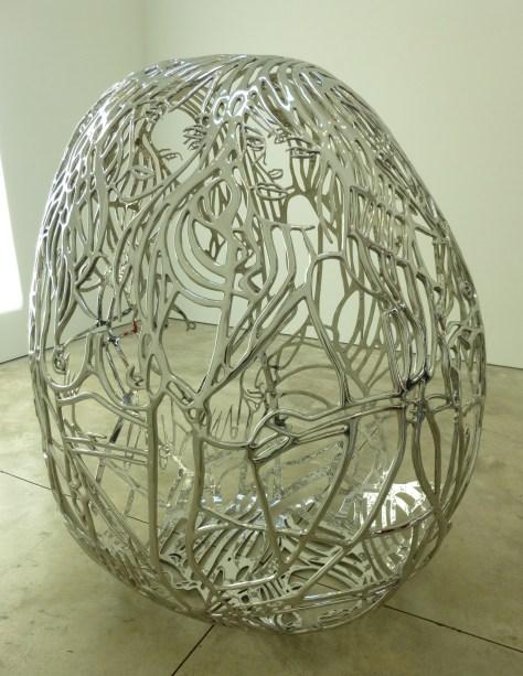 Ghada Amer Sculpture