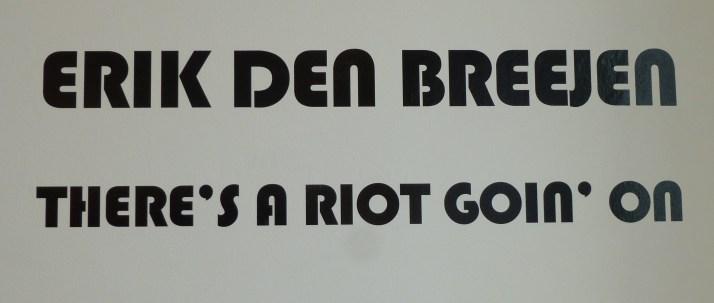 Erik den Breejen Signage
