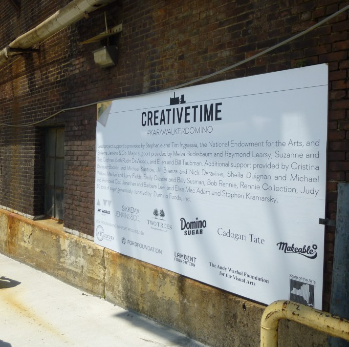 Creative Time Sign