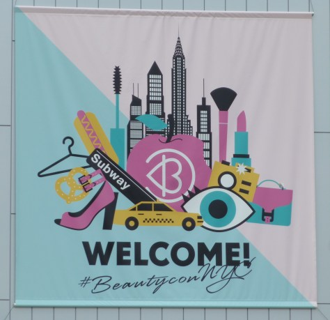 Beautycon NYC Signage