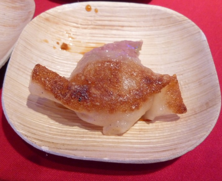 Pork Dumplings Close Up