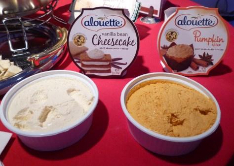 Alouette Vanilla Cheesecake and Pumpkin Spice
