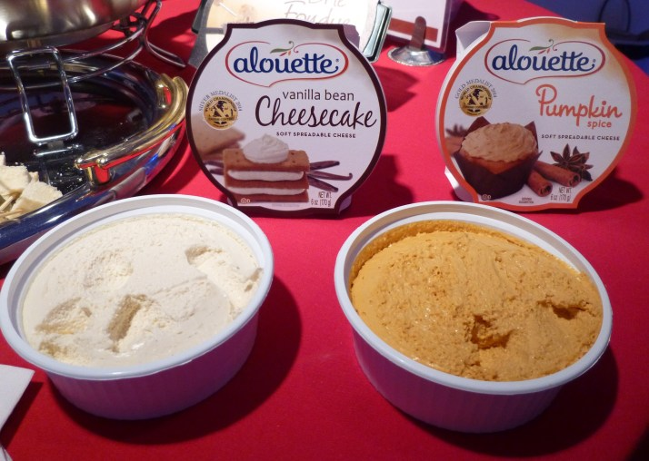Alouette Vanilla Cheesecake and Pumpkin Spice