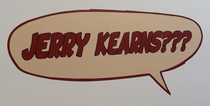 Jerry Kearns Exhibit Signage