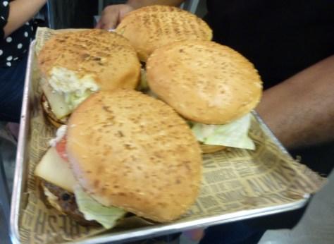 Big Smoke Burgers on a Tray
