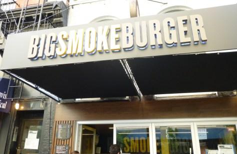 Big Smoke Burger Storefront