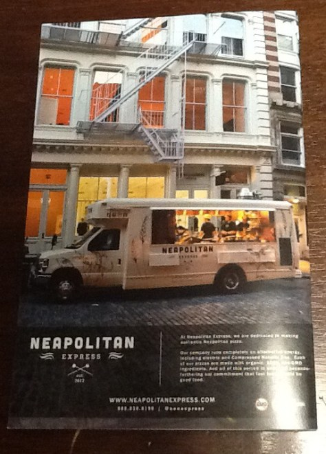 Food Truck Magazine Back Cover