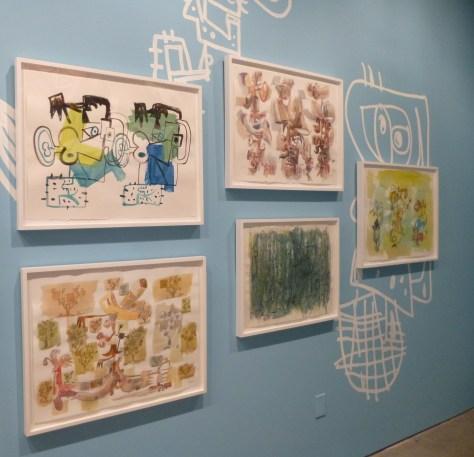 Wayne White Cubist Watercolors