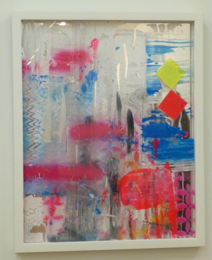 Martin Durazo Painting on Mirror