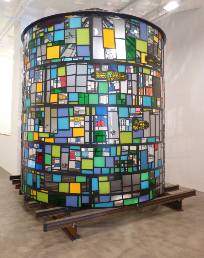 Tom Fruin Water Tower