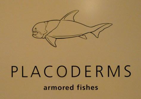 Placoderm Signage