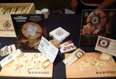 Sartori Cheese Display