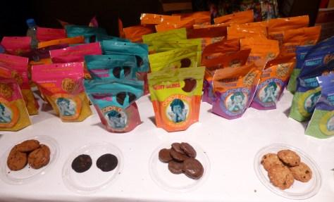 Goodie Girl Cookies Display