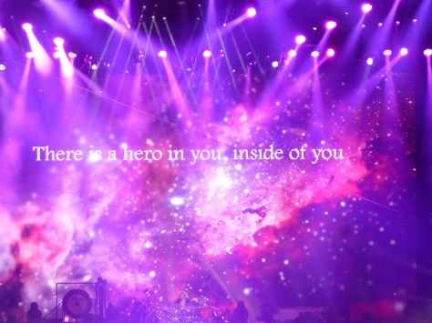 Lyrics to Hero