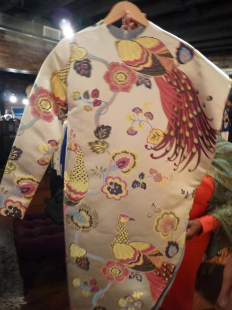 Silk Brocade Long Jacket By Durdoux