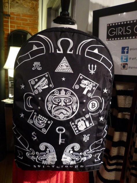 Sprayground Embroidered Mayan Design