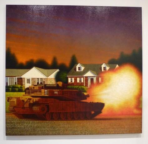 Peter Drake Siege of Syosset, 2007