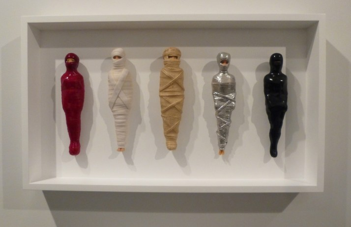 Mummified Barbies