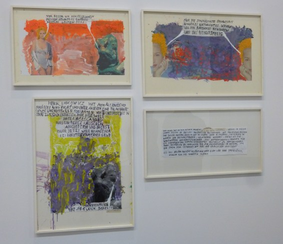 Franz West 4 Drawings