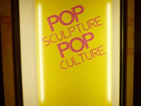 Pop Sculptures Signage