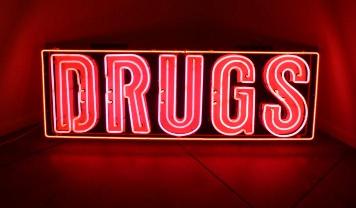 Jack Pierson Drugs (Pink and Orange)