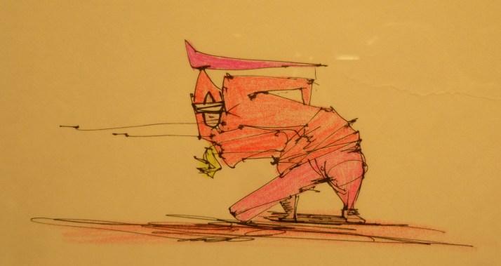 Taku Obata Drawing
