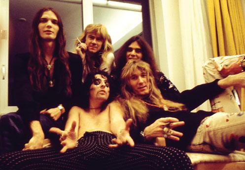 Alice Cooper Full Band
