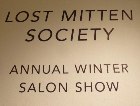Lost Mitten Society Signage