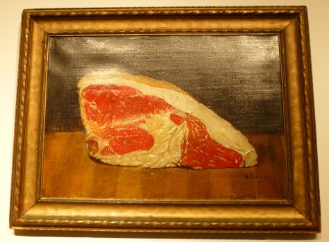 Untitled Meat Painting by W. Conway at Steven S Powers