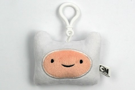 Finn Head Plush Backpack Clip