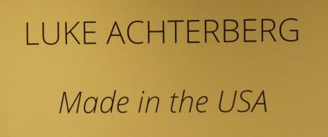 Luke Achterberg Signage