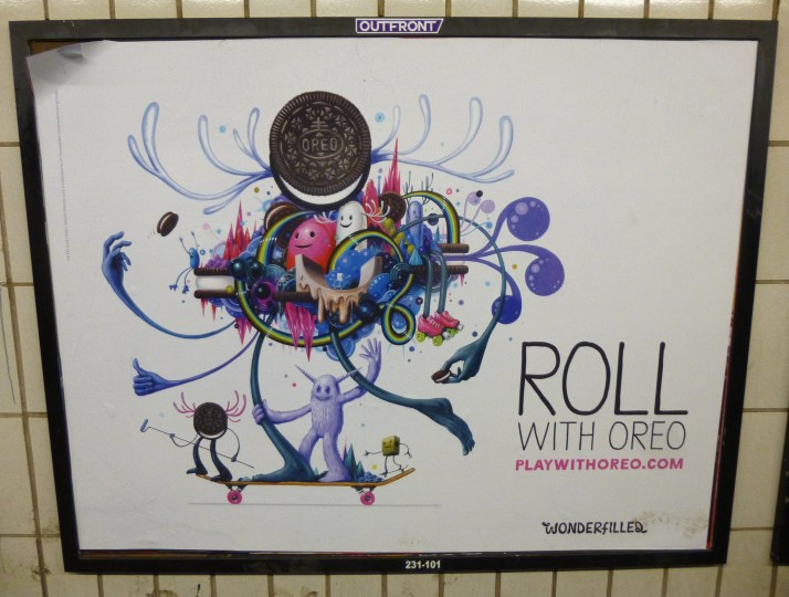 Oreo Subway Ad By Jeff Soto