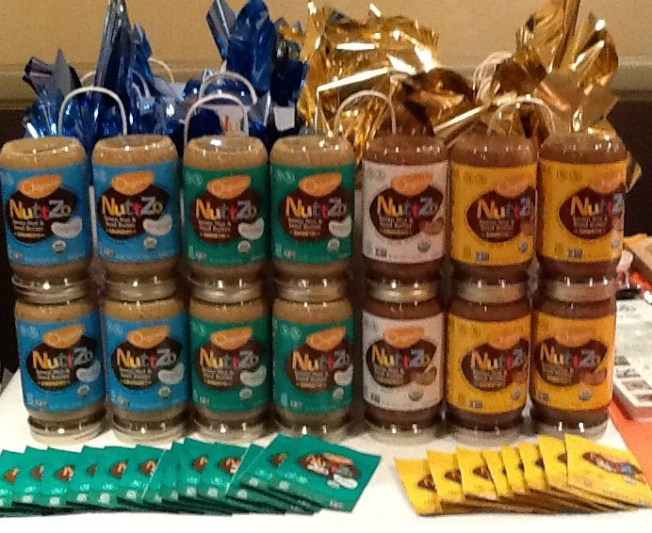 Nuttzo Nut Butter Display