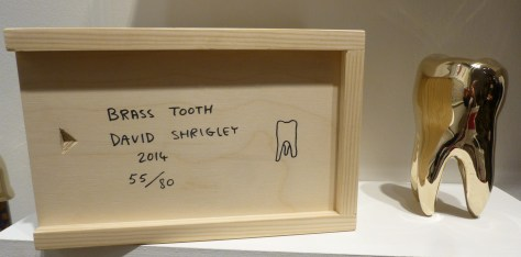 David Shrigley Brass Tooth