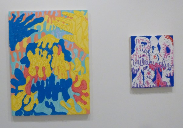 Timothy Bergstrom - Boogie Man( Left), Bad Trip (Right