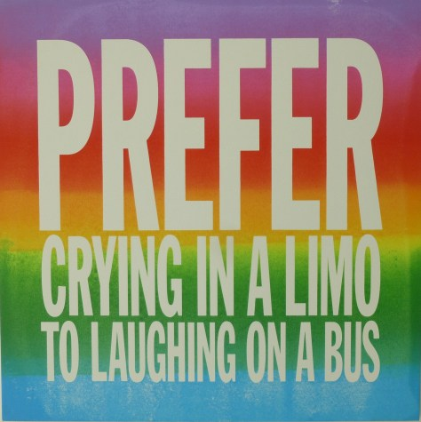 Prefer Crying in a Limo