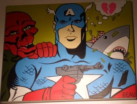 Captain America Shark