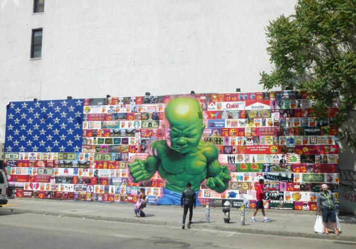 Hulk Baby Mural Full