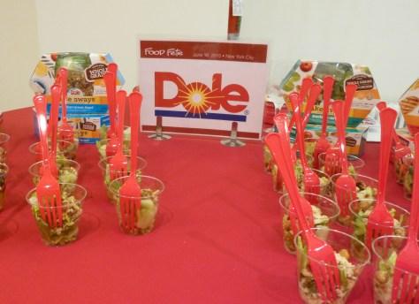 Dole Take Aways Salads Booth