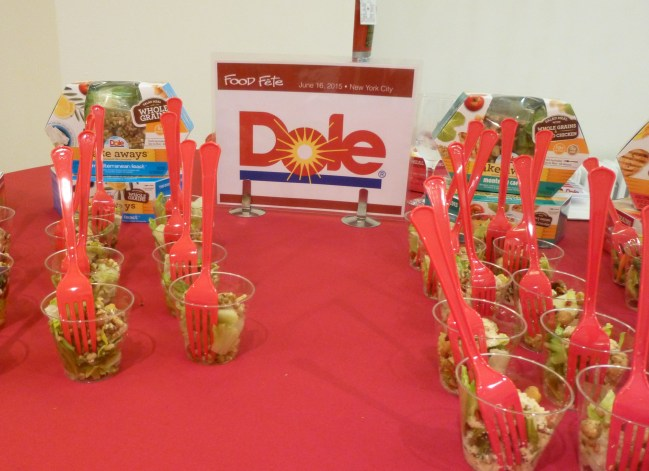 Dole Take Aways Salads Booth