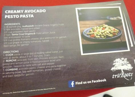 Creamy Avocado Pesto Pasta