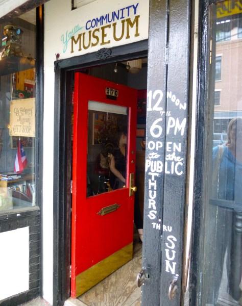 City Reliquary Museum Door