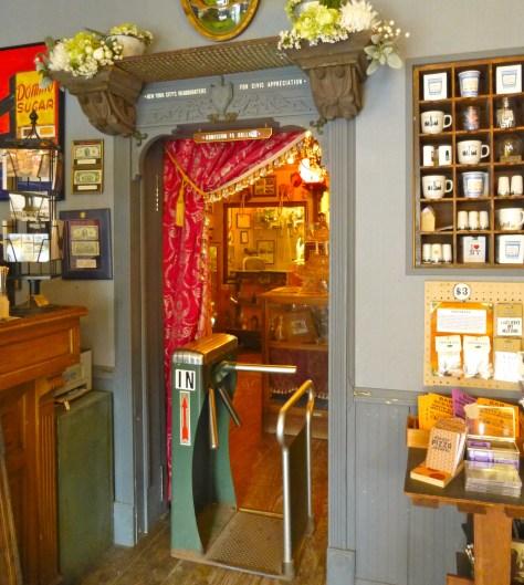 City Reliquary Museum Turnstile