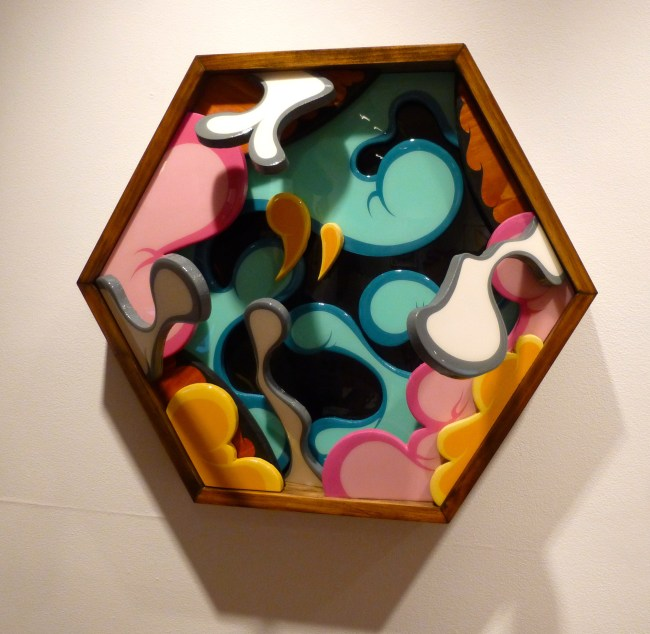 Hexagonal Wall Sculpture
