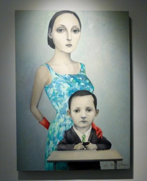 Mom and Child Portrait