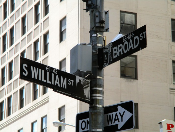 William and Broad Streets