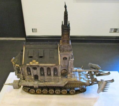 Kris Kuksi Tiny Church Tank