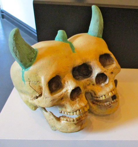 Conjoined Demon Skull