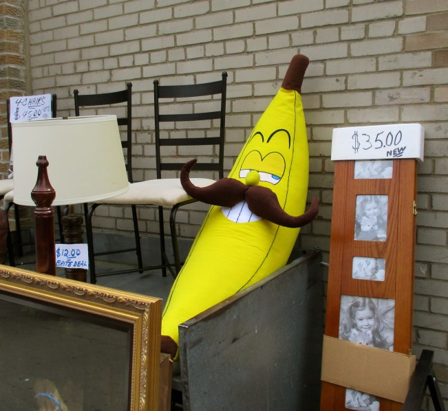 Giant Banana With a Mustache