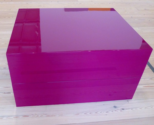 Violet Block in Two Parts